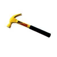 噴塑黃鋼柄羊角錘