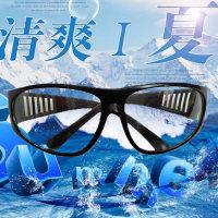 防尘平光眼镜