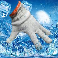 細線棉紗手套