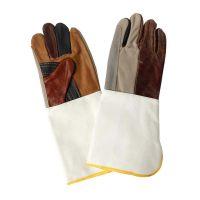 一層勞保防護牛皮焊工手套